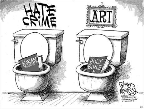 Islam and Christianity, Art and Hate